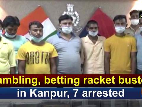 Gambling, betting racket busted in Kanpur, 7 arrested