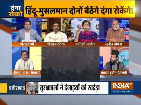 कुरुक्षेत्र: सीएए के खिलाफ दिल्ली में जारी हिंसा पर बड़ी बहस