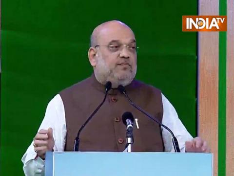 अमित शाह ने किया राष्ट्रीय सहकारिता सम्मेलन को संबोधित, कहा - सब साथ में रहकर सहकारिता को आगे बढ़ाएं