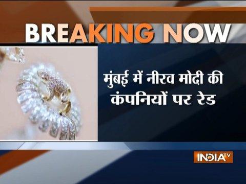 PNB scam: ED conducts raids at four companies of Nirav Modi in Mumbai