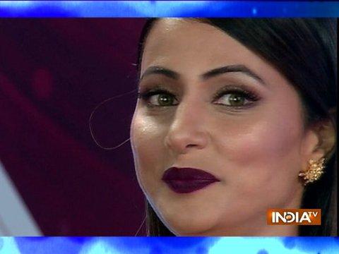 Hina Khan receives most stylish personality award