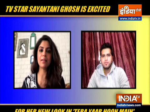 Actress Sayantani Ghosh talks about her show Tera Yaar Hoon Main