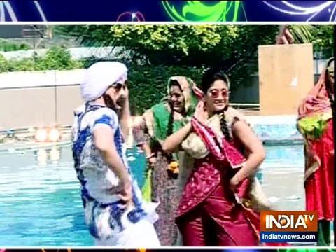 Watch on SBS as Naira & Kartik seen in a Pujabi avtaar for a dance face-off.