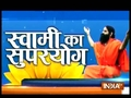 When India TV Editor-in-Chief performed Yoga with Swami Ramdev in Faridabad