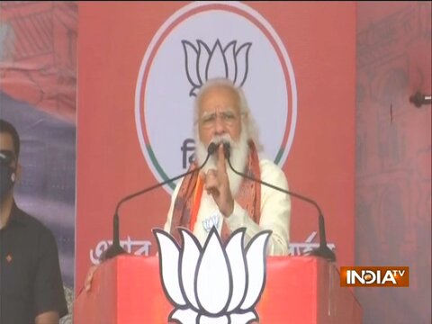 Those who were thinking of playing khela with you had to face khela themselves: PM Modi