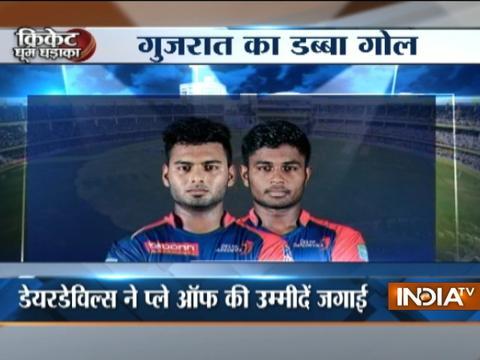 IPL 2017: Delhi Daredevils beats Gujarat Lions by 7 wickets