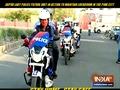 पिंक सिटी में लॉकडाउन बरकरार रखने के लिए जयपुर लेडी पुलिस पेट्रोल यूनिट हरकत में आई