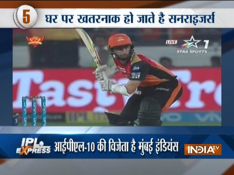 IPL 2018: Confident Sunrisers Hyderabad have tails up against defending champions Mumbai Indians