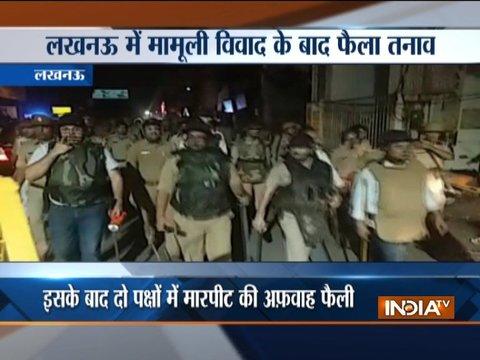 उत्तर प्रदेश: लखनऊ के अमीनाबाद इलाके में दो समूहों के बीच हुई हिंसक झड़प
