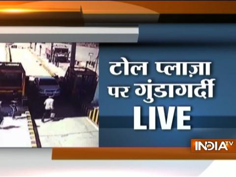 Caught on Camera: Bajrang Dal workers assault toll-booth workers in Indore