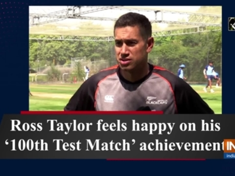 Ross Taylor feels happy on his '100th Test Match' achievement