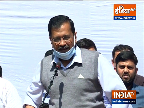 MCD के चुनाव में जीत के बाद सीएम अरविंद केजरीवाल ने दिल्ली की जनता का धन्यवाद दिया
