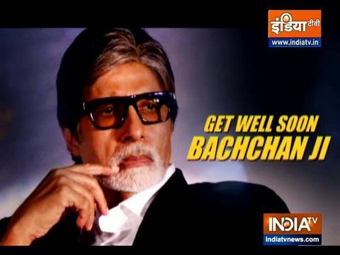 अमिताभ बच्चन ने डॉक्टर्स और मेडिकल स्टाफ को कहा शुक्रिया