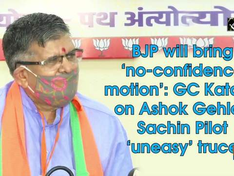 BJP will bring 'no-confidence motion': GC Kataria on Ashok Gehlot, Sachin Pilot 'uneasy' truce