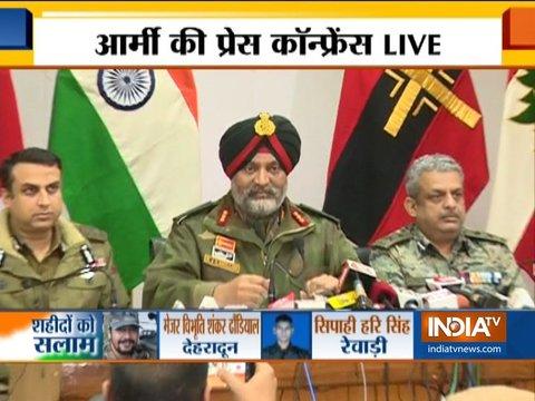 पुलवामा हमला: सेना का सख्त संदेश, जिसने सरेंडर नहीं किया उसको खत्म कर दिया जाएगा