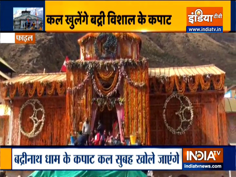 Uttrakhand: Portals of Kedarnath temple open today at 5 am