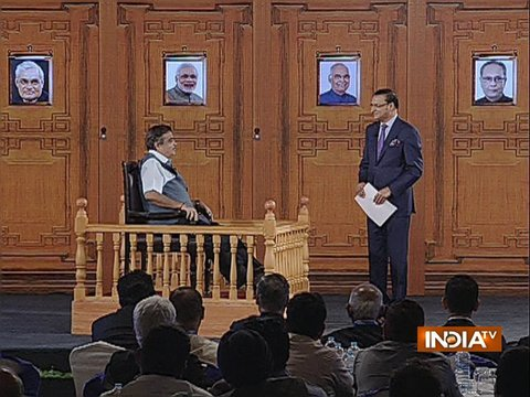Nitin Gadkari in Aap Ki Adalat: Neither am I RSS choice for PM, nor do I dream of becoming PM
