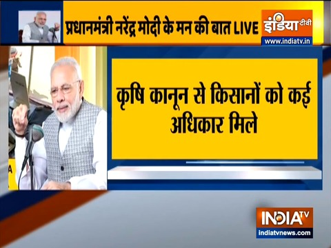 Committed to welfare of hardworking Indian farmer: PM Modi on 'Mann ki Baat'