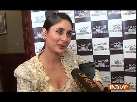 Kareena Kapoor Khan talks about her upcoming film Veere Di Wedding at LFW 2018