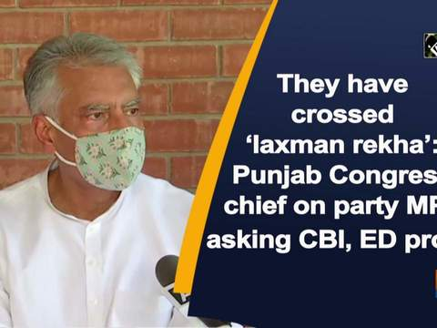 They have crossed 'laxman rekha': Punjab Congress chief on party MPs asking CBI, ED probe