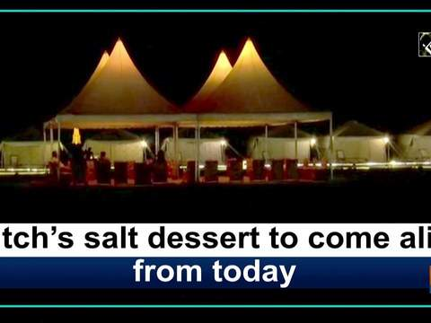 Kutch's salt dessert to come alive from today