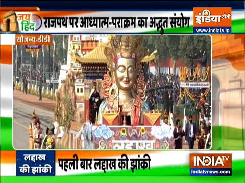 Republic Day 2021: Tableau of Union Territory of Ladakh at Rajpath