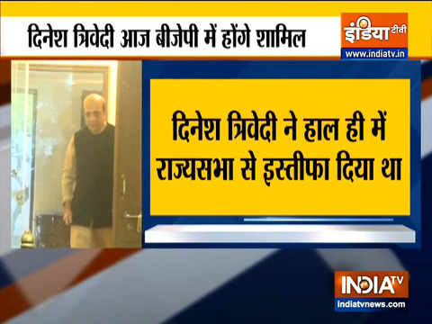 West Bengal Polls 2021: Dinesh Trivedi to join BJP today
