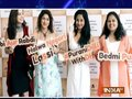 TV actresses relish food at restaurant opening in Mumbai
