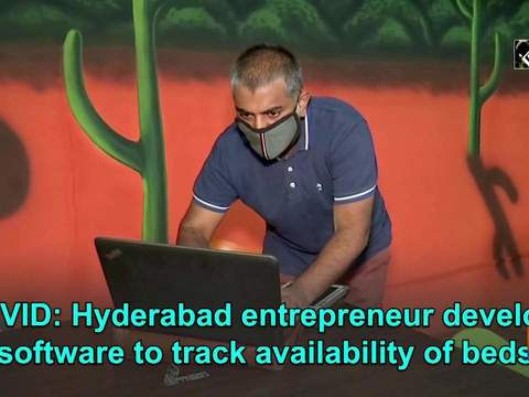 COVID: Hyderabad entrepreneur develops software to track availability of beds