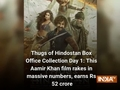 Thugs of Hindostan Box Office Collection Day 1: This Aamir Khan film rakes in massive numbers, earns Rs 52 crore