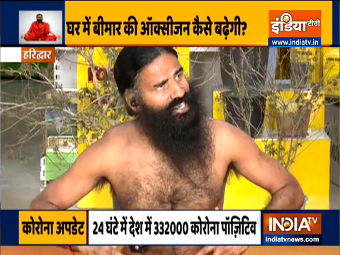 Swami Ramdev suggests ways to help you with breathing issues