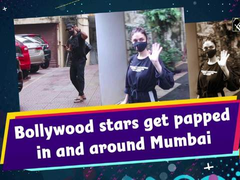 Bollywood stars get papped in and around Mumbai