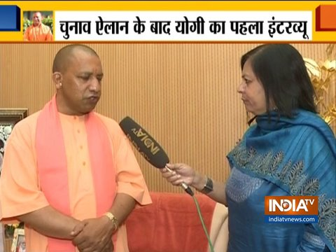 Lok Sabha Election 2019 date announced: UP CM Yogi Adityanath speaks exclusively to India TV
