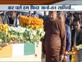 Wreath laying ceremony of martyr CRPF Jawan Mujahid Khan takes place in Arrah