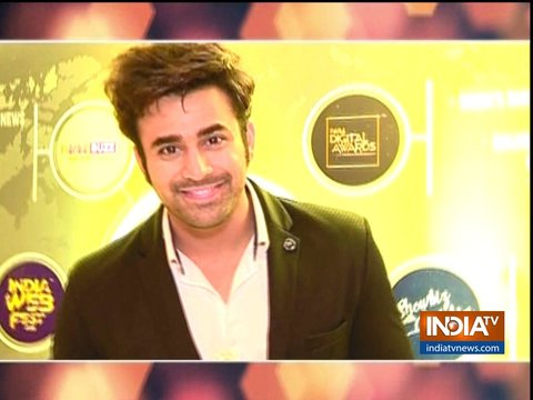 Surbhi Chanda, Zain Imam, Pearl V Puri and others attend TV Video Summit and Awards
