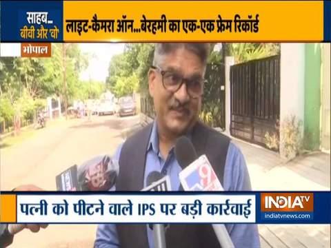 भोपाल: स्पेशल डीजी पुरुषोत्तम शर्मा पर हुई कार्रवाई, पत्नी की पिटाई करते वीडियो हुआ वायरल