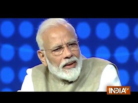 यदि हम आतंकवाद और गरीबी के खिलाफ लड़ते हैं, तो हम राष्ट्र के रूप में विकसित होंगे: PM मोदी
