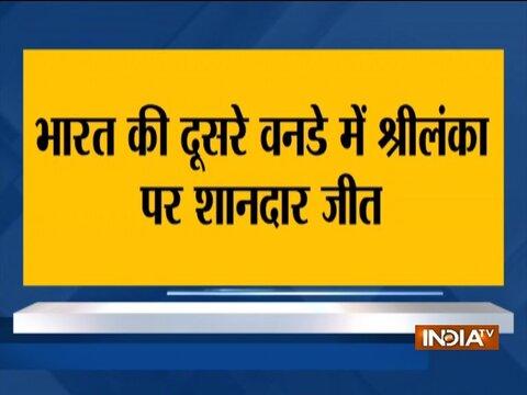 India vs Sri Lanka   Deepak Chahar leads India's charge in tense 276-run chase