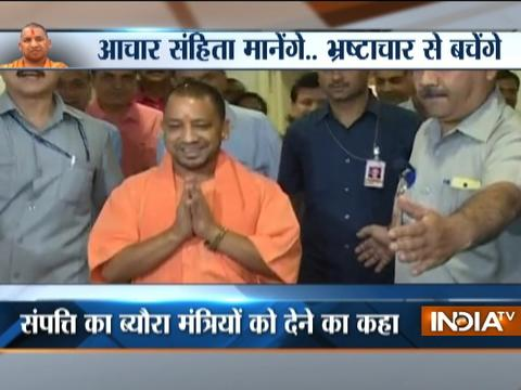 Yogi Adityanath issues guidelines for his ministers and officials for smooth working of govt