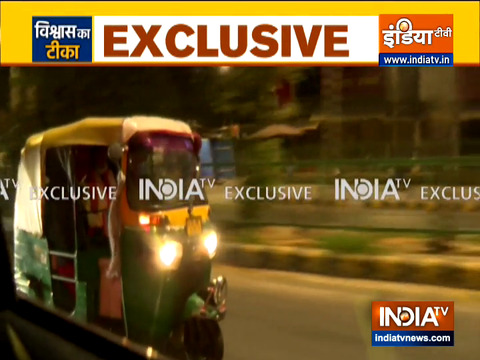 Watch:  PM Modi takes rickshaw ride while going to AIIMS for first COVID-19 vaccine dose