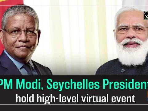 PM Modi, Seychelles President hold high-level virtual event