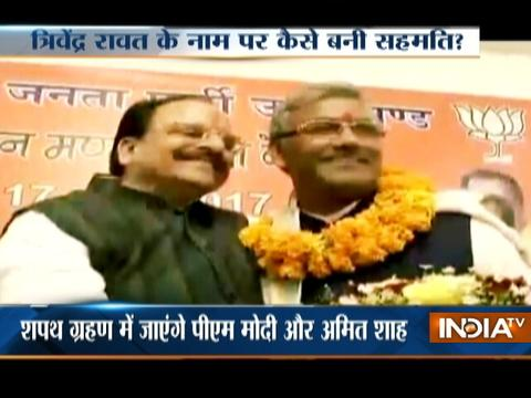 BJP's Trivendra Singh Rawat to be sworn-in as new Uttarakhand CM today