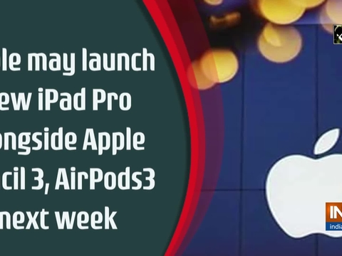 Apple may launch new iPad Pro alongside Apple Pencil 3, AirPods3 next week