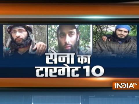 Army plans to knockdown top terrorist of Hizbul and Lashkar terror group