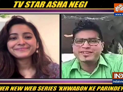 Asha Negi talks about her upcoming show Khwabon Ke Parindey