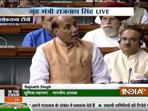 Govt will take every step to save Kulbhushan Jadhav: Rajnath Singh in Lok Sabha