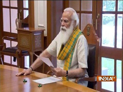 देश में कोविड-19 की स्थिति पर PM मोदी ने ली मीटिंग