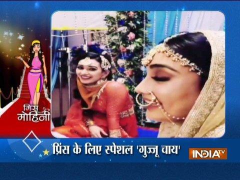 Surbhi Jyoti's unending masti on the sets of Naagin 3