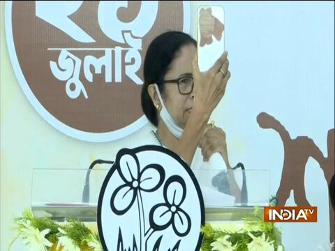 Pegasus Row: Govt is spending money on Pegasus and not on the people, says Mamata Banerjee