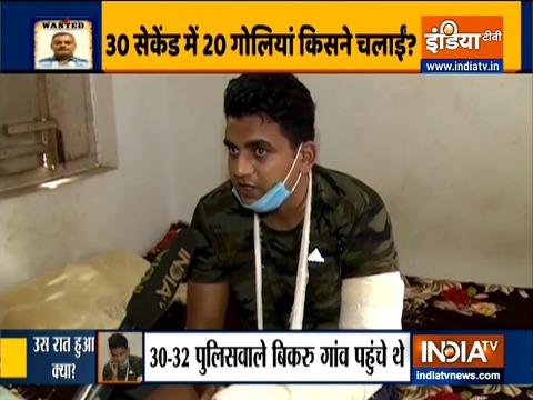 कानपुर एनकाउंटर: पुलिसकर्मी अजय कश्यप ने हिस्ट्रीशीटर विकास दुबे के घर के पास हुए शूट आउट के बारे में बताया